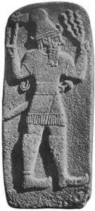 Hittite-god-weather-lightning-thunderbolt-trident